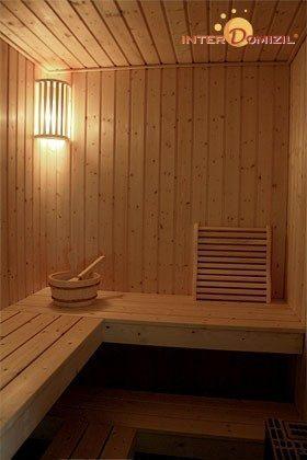 Sauna Dachgeschosswohnung Strandvilla Baabe Ref. 159404