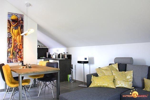 Wohn-/Essbereich Dachgeschosswohnung Strandvilla Baabe Ref. 159404
