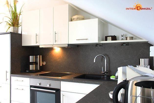 Küchendetail Dachgeschosswohnung Strandvilla Baabe Ref. 159404