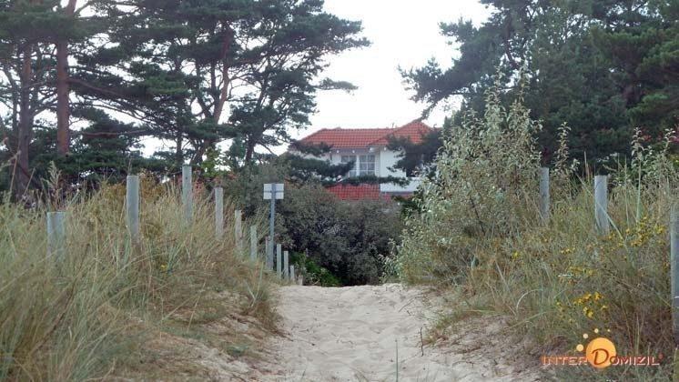 Zugang zum Meeresblick Baabe Ferienwohnung Lachmöwe A 1.35 Ref. 162722