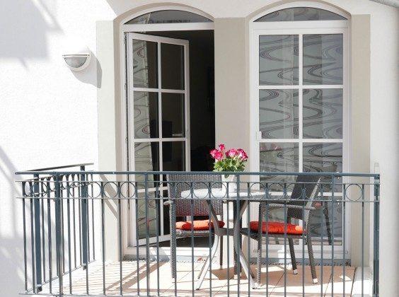Balkon Meeresblick Baabe Ferienwohnung Lachmöwe A 1.35 Ref. 162722