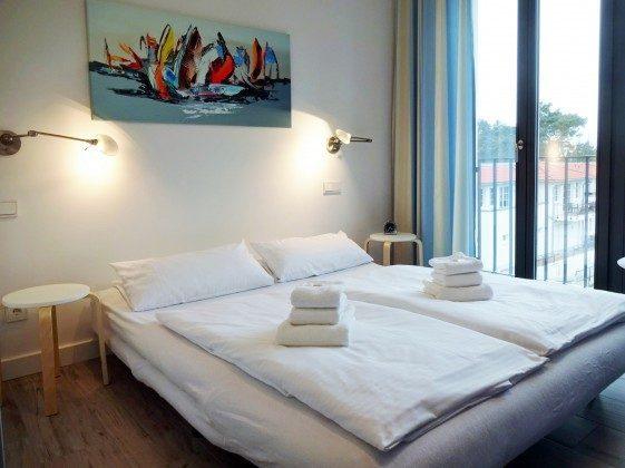 Schlaf-/Wohnzimmer 2 mit Blick zum Meer Strandvilla Andrea Wohnung Sedina 175682