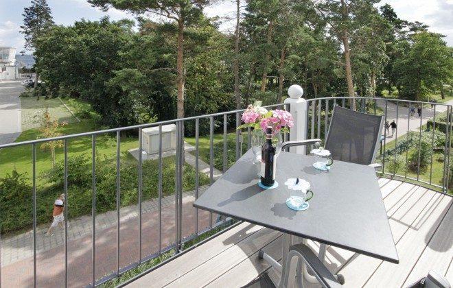 Balkon Strandvilla Andrea Wohnung Sedina 175682