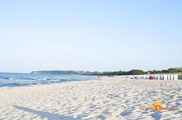 Der Strand von Baabe Strandvilla Andrea Wohnung Sedina 175682