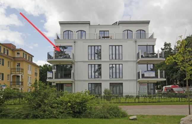 Lage in der Strandvilla Andrea Wohnung Sedina 175682