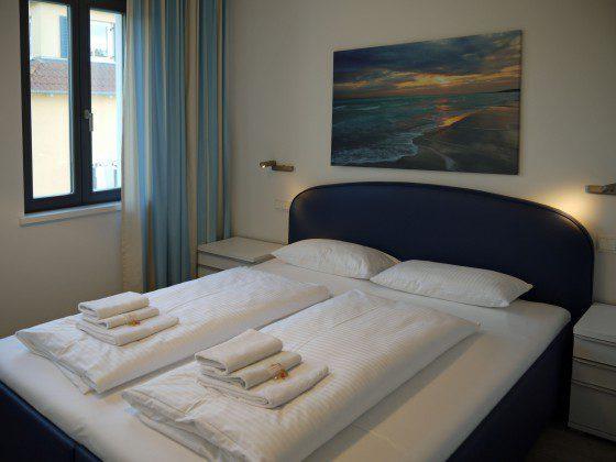 Schlafzimmer 1 Strandvilla Andrea Wohnung Sedina