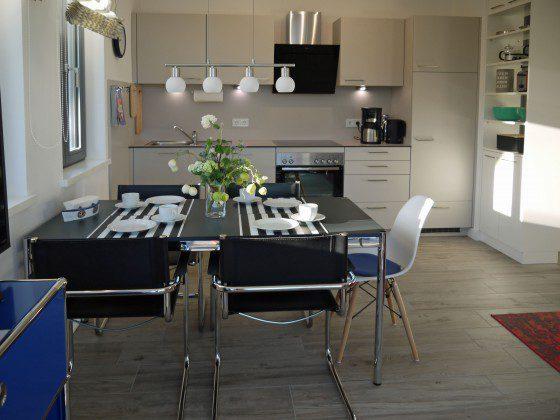Essbereich Strandvilla Andrea Wohnung Sedina 175682