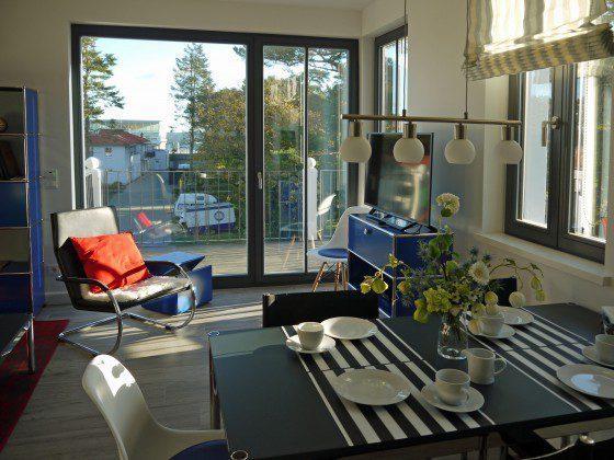 Blick bis zum Meer Strandvilla Andrea Wohnung Sedina 175682