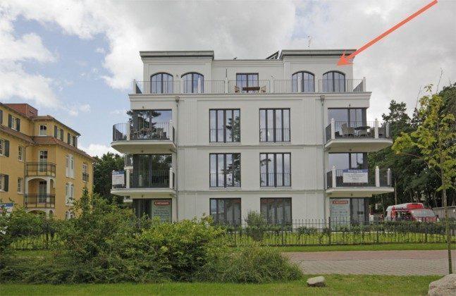 Lage in der Villa Andrea Penthouse Ferienwohnung Passat Ref: 181975