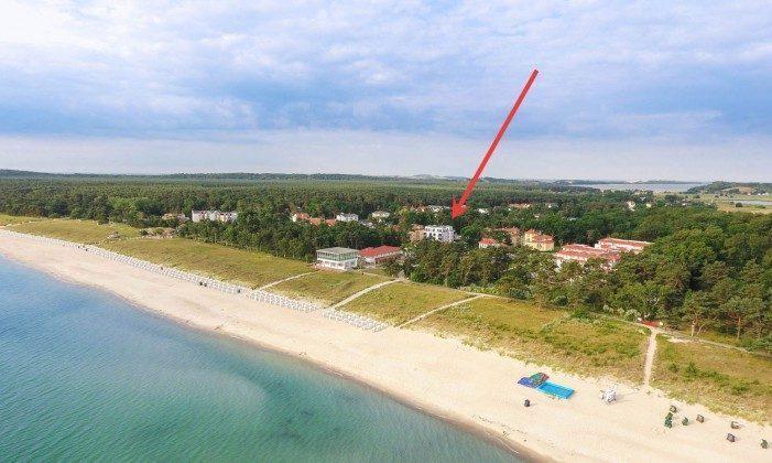 Lage am Strand von Baabe  von copyright: nico.offermann@googlemail.com