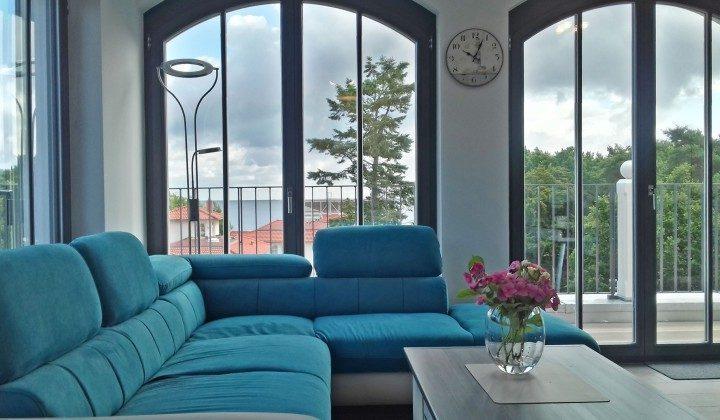 Blick vom Sofa Penthouse Ferienwohnung Passat Ref: 181975