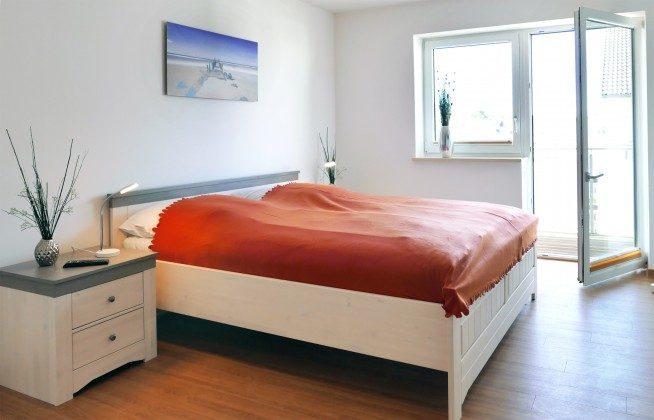 Schlafzimmer 1 Ferienwohnung Baabe Kapitän Blaubär Ref. 189689-1
