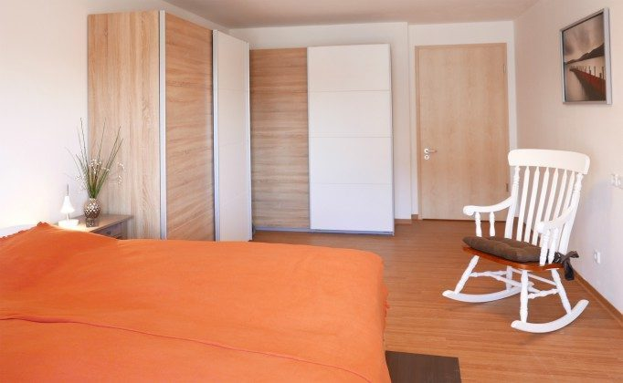 Schlafzimmer 2 Ferienwohnung Baabe Kapitän Blaubär Ref. 189689-1