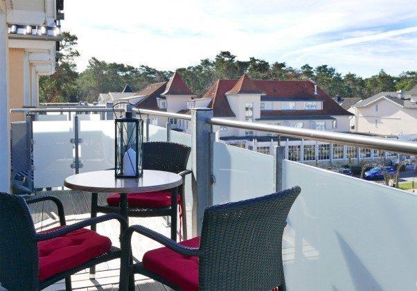 Balkon vor den Schlafzimmern Ferienwohnung Baabe Jack Sparrow Ref. 189689-2