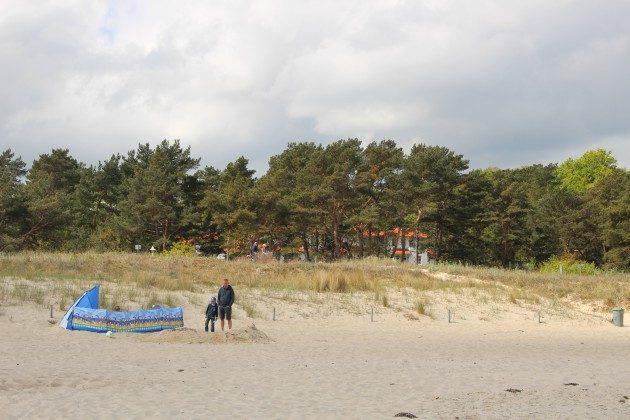 Der Strand von Baabe Baabe Ferienwohnung 01 Wellengang Ref: 194234-1