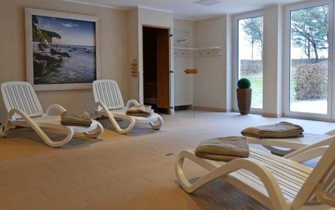 Saunabereich Haus Meeresblick