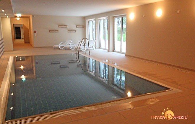 Schwimmbad  Baabe Meeresblick Ferienwohnung 03 Dünenwind Ref: 194234-3
