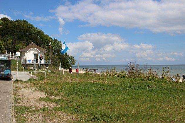 Strand vorm Haus Meeresblick Rügen Baabe, Ferienwohnung Stranddiestel A 0.03 Ref. 199195
