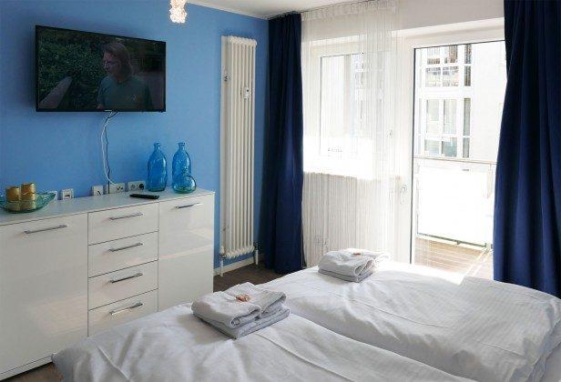 Schlafzimmer 1 Baabe Ferienwohnung Heimathafen Ref. 200855-1 / W