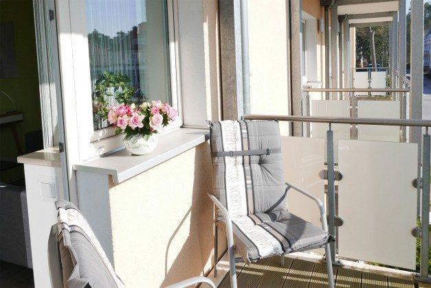Balkon 2 Baabe Ferienwohnung Heimathafen Ref. 200855-1 / W