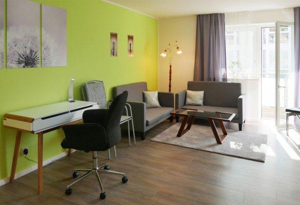 Schlafzimmer 2 /Wohnzimmer 2 Baabe Ferienwohnung Heimathafen Ref. 200855-1 / W
