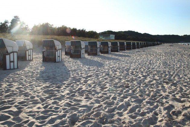 Am Strand von Baabe Heimathafen Ref. 200855-1 / W
