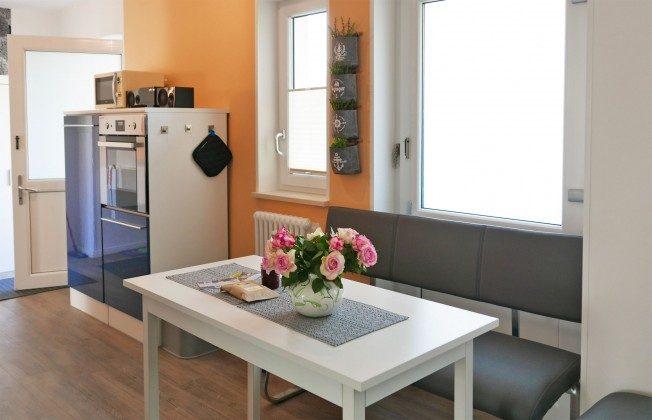 Essbereich Küche Baabe Ferienwohnung Heimathafen Ref. 200855-1 / W
