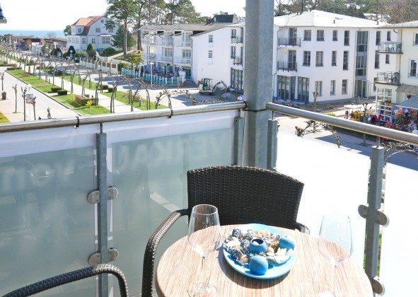 Balkon Ferienwohnung Ostseeblick Strandstraße Ref. 200906-1