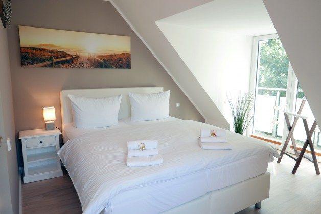 """Schlafzimmer Ferienwohnung 21 """"Kajüte"""" Ref. 205862 im Haus Mönchgut"""
