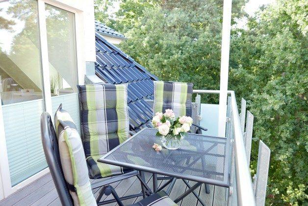 """Balkon Ferienwohnung 21 """"Kajüte"""" Ref. 205862 im Haus Mönchgut"""