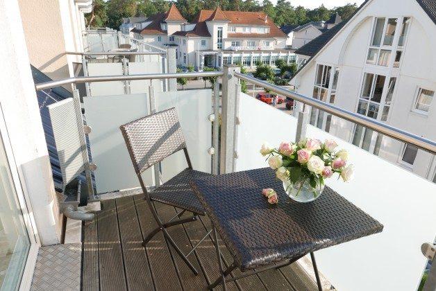 """Balkon Doppelzimmer 21 """"Koje"""" Ref. 205862 im Haus Mönchgut"""