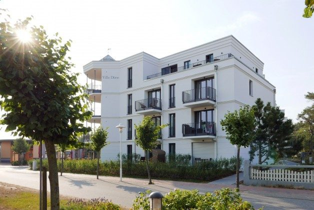 Lage der Wohnung im Villenensemble Ref. 211408