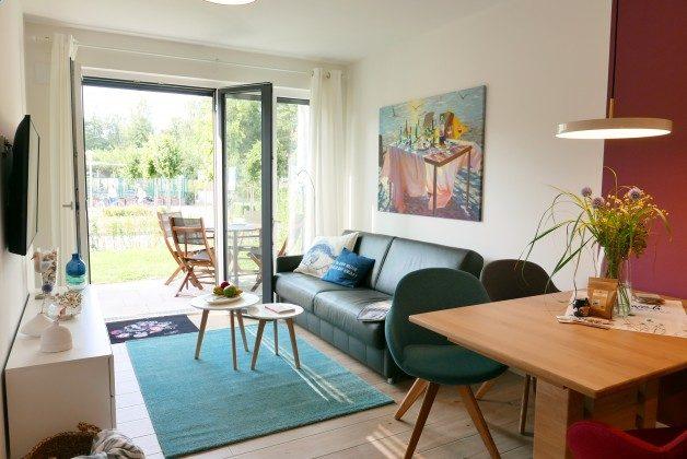 """Wohnzimmer Baabe, Ferienwohnung 43 """"Lebensfreude"""" Ref. 211411"""