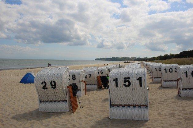 """Strandkörbe Rügen, Ferienwohnung 12 """"Meerblick"""" Ref. 212178 im Villen-Ensemble"""