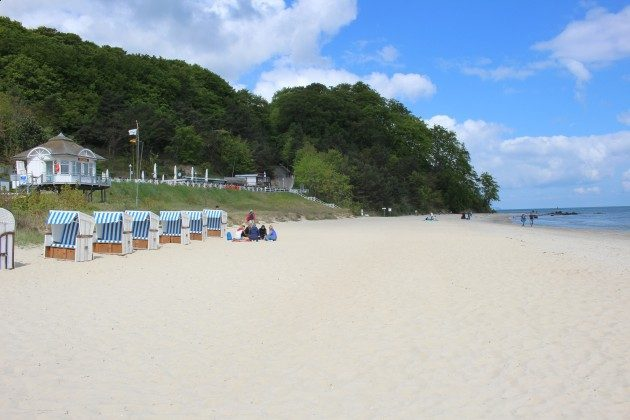Der Strand von Baabe