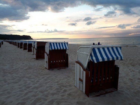 Strandkörbe in Baabe