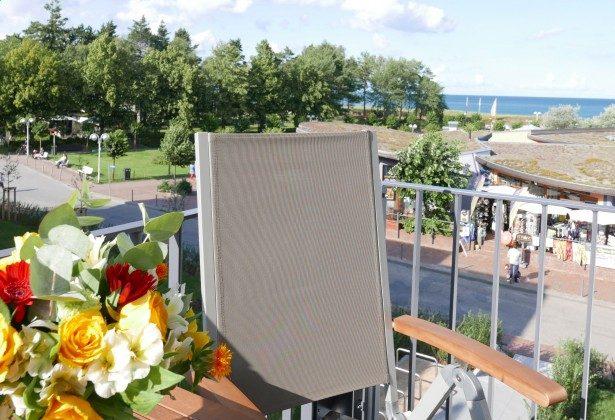 """Sicht vom Balkon """"Lug up de See"""" Ref. 212641"""