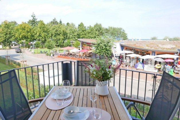 Blick vom Balkon Ferienwohnung Ankerplatz Ref. 212656-1 im Villen Ensemble