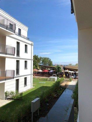 seitlicher Meerblick Villa Strandläufer Baabe, Ferienwohnung 26 Granitz Ref. 213698 im Villen-Ensemble