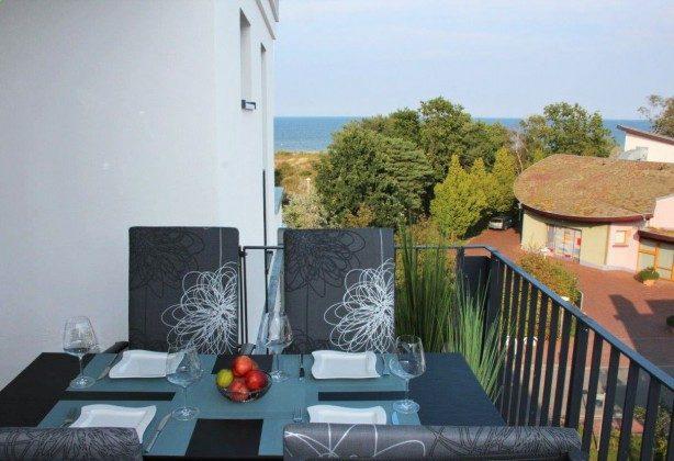 Balkon Baabe Ferienwohnung 40 Himmelsnest Ref. 213701 Villa Strandläufer