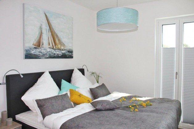Schlafzimmer 1 Baabe Ferienwohnung 40 Himmelsnest Ref. 213701 Villa Strandläufer