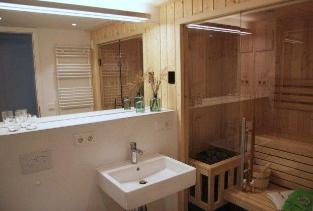 Bad mit Sauna Baabe Ferienwohnung 40 Himmelsnest Ref. 213701 Villa Strandläufer