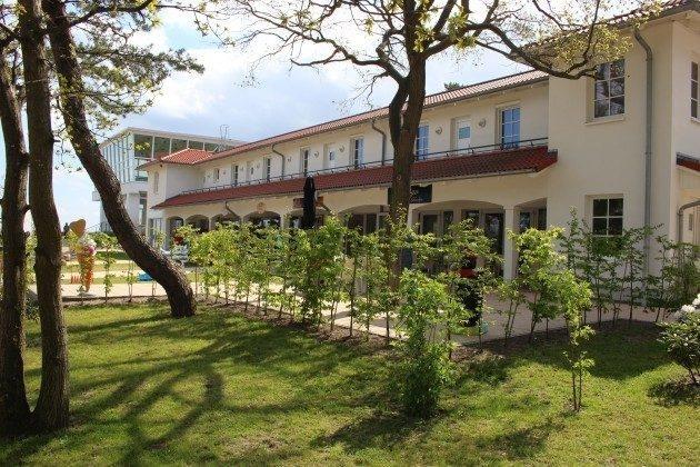 Die  Anlage Aparthotel Inselparadies Baabe
