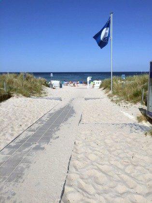 Hauptzugang_Baabe_Strand