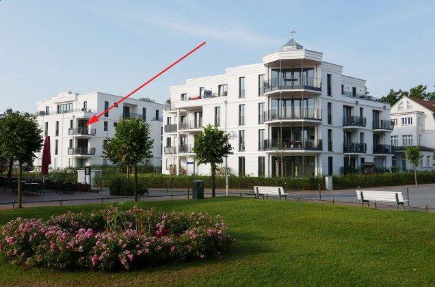 Lage  Ferienwohnung Pura Vida 34 Ref. 215429-1 Villa Strandläufer
