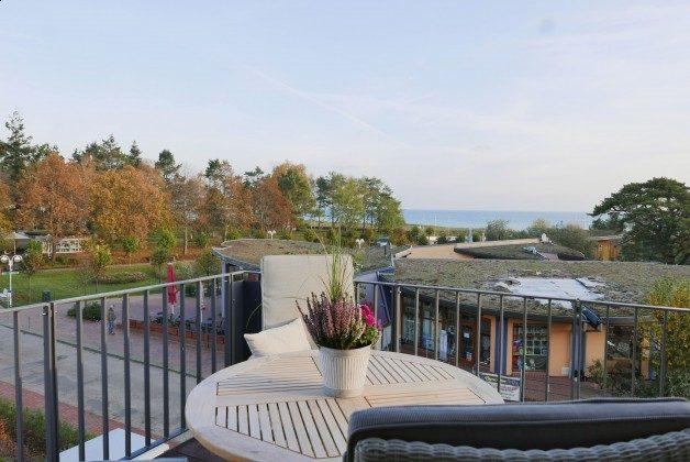 Balkonblick zum Meer Ferienwohnung Pura Vida 34 Ref. 215429-1 Baabe, Villen-Ensemble