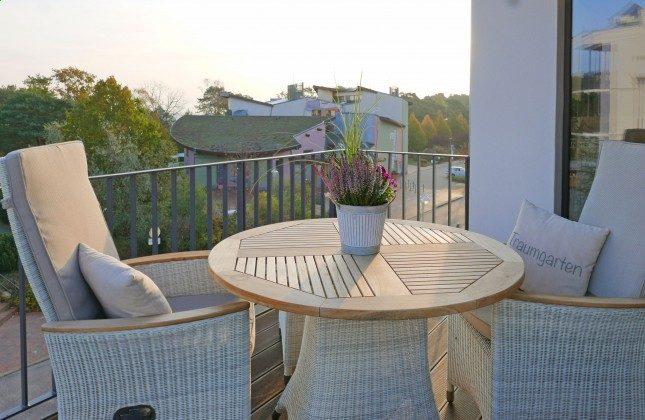 Balkon Ferienwohnung Pura Vida 34 Ref. 215429-1 Baabe, Villen-Ensemble