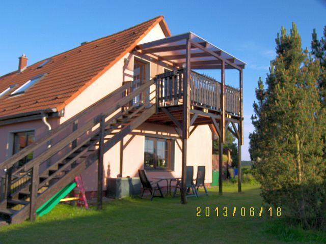 Ferienwohnung Rügen mit Garten