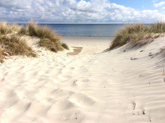 Strandzugang Rügen Prora Ferienwohnung Nadine Ref. 181243