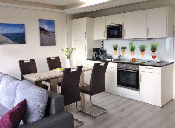 Küchenbereich Rügen Prora Ferienwohnung Nadine Ref. 181243